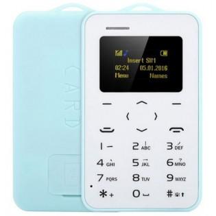 AIEK C6 luottokorttipuhelin - Sininen