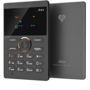 AIEK E1 mini puhelin - Musta