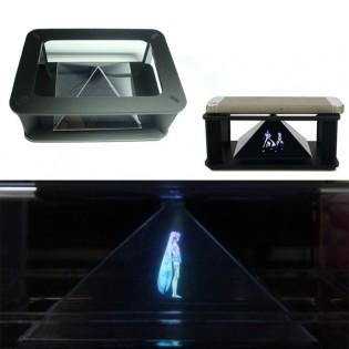 Hologrammipyramidi älypuhelimelle