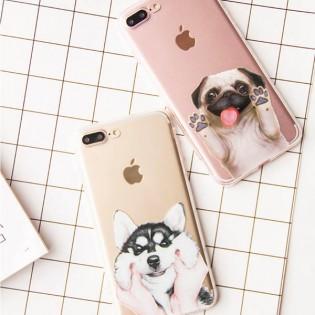iPhone 7 / 7 Plus koiranpentu suojakuori - iPhone 7, Mopsi