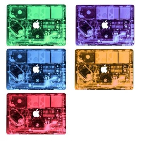 """MacBook 12"""" suojatarra elektroniikka - Punainen"""