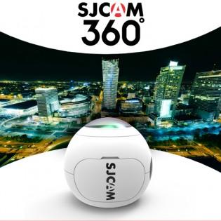 SJCAM SJ360 WiFi panoraamakamera 2K - Valkoinen