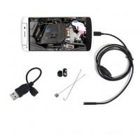 Tässä tähystyskamera Androidille, jolla saat näköyhteyden todella ahtaisiin paikkoihin. Kameraa voit käyttää puhelimella tietokoneella tai tabletilla.