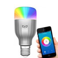 Xiaomin RGBW Smart LED on E27-kantainen älylamppu, jota voit ohjata kätevästi kännykällä tai tabletilla. Vaihda väriä tai säädä kirkkautta tunnelman mukaan.