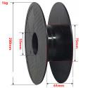 PLA 1 kg sort / hvid 1,75 mm FrontierFila filament til 3D-printer