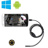 Android/PC 1 m / 5,5 mm miniendoskooppi