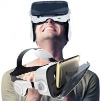 """VR-lasit jotka sopivat 4.7-6.2"""" älypuhelimille. BOBOVR Z4 VR-laseissa on laadukkaat optiikat ja kuulokkeet, joten et tarvitse erillisä kuulokkeita."""