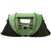 Itsestään aukeava teltta on helppo kasata ja se on pystyssä alle minuutissa! Sopivan tilava 4-5 hengen teltta on nopea kasata ja ultrakevyt kantaa reissussa.