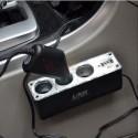 1 to 3 Car Cigarette Socket Adapter