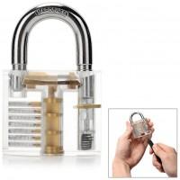 Har du alltid drömt om att kunna dyrka upp ett lås? Nu har du chansen! Detta set levereras komplett med lås, 9st dyrkar samt nyckel.