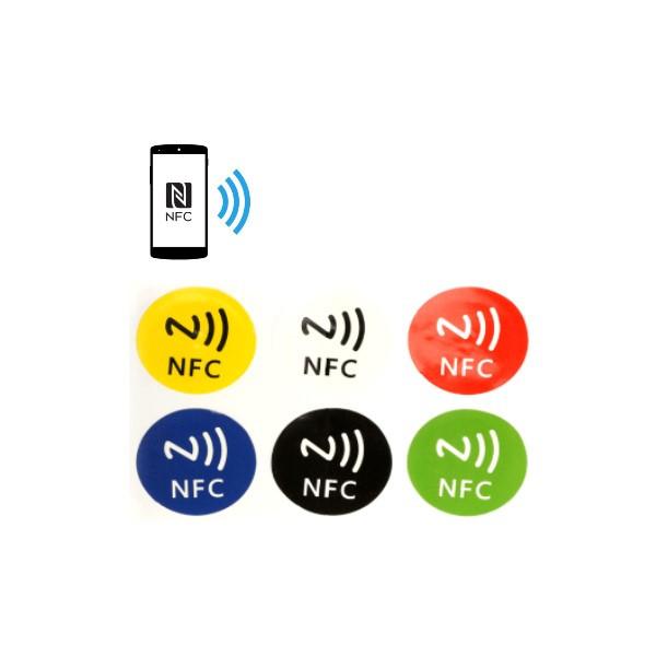 NFC stickers 6 st