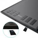 HUION 1060PLUS Tegnebræt med 8GB hukommelse til PC