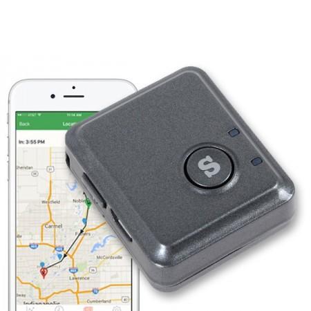 Mini GPS-sändare med alarm för Android & iPhone