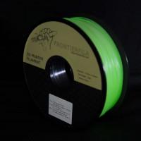 Pimeässähohtava fosforesoiva PLA 3D-tulostinlanka on helppo tulostinmateriaali vasta-alkajalle tai vaativaankin printaamiseen. 1kg rulla 1.75mm lankaa.
