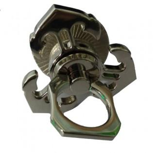 Irroitettava Ankkuri Tri-Spinner - Fidget spinner puhelimelle - Hopea