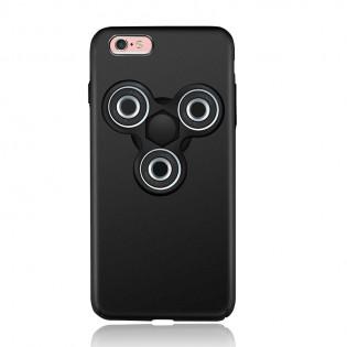 iPhone 6 / 6S Plus suojakuori Tri-Spinner stressilelulla - Punainen