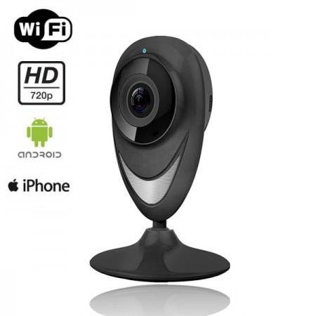 360EyeS Sisävalvontakamera - Musta