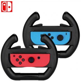 Nintendo SWITCH 2 x Joy-con rattiohjain - Musta