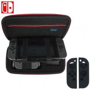 Nintendo SWITCH laukku & 2 ohjaimen suojaa