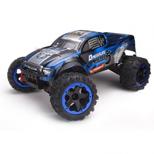 REMO Monster Truck 1/8 harjaton RC-auto