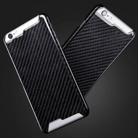iPhone 6 / 6 Plus hiilikuitu suojakuori - iPhone 6