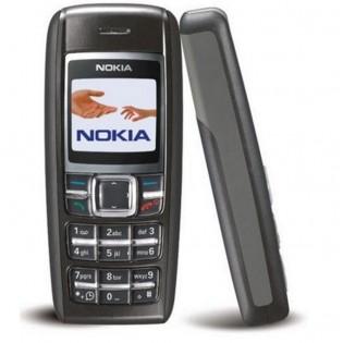 Nokia 1600 refurbished puhelin - Musta