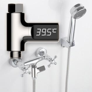 Digitaalinen hanan lämpömittari LED-näytöllä