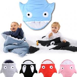 Hai-makuupussi lapselle 3 kokoa - Musta, S