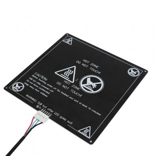 Lämmitettävä tulostusalusta Anycubic I3 Mega tulostimeen 220x220mm