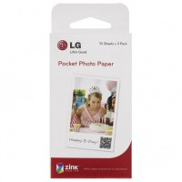 LG Pocket Photo -fotopapper 3x10 st