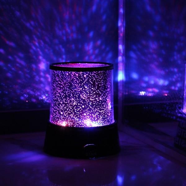 LED Stjärnhimmelsprojektor