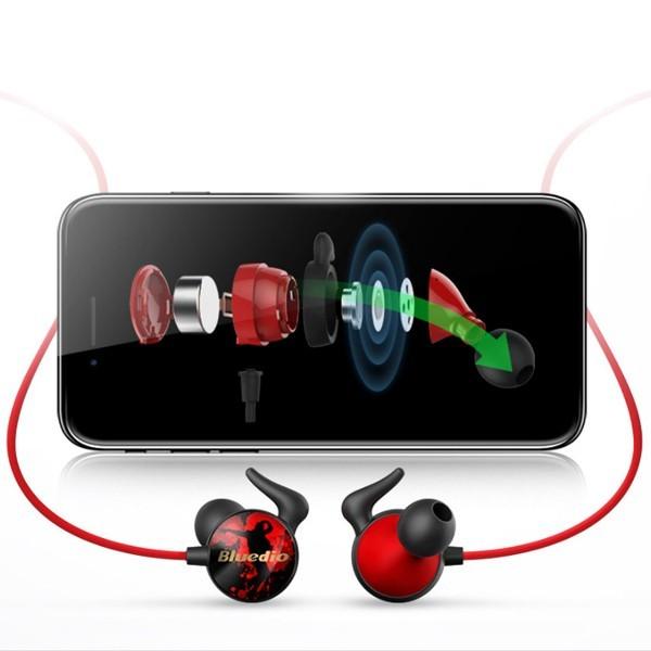 Bluedio Ai Bluetooth kuulokkeet mikrofonilla e