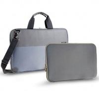 Monet ihmiset kantavat läppäreitään mukanaan minne tahansa ja siksi on hyvä suojata tietokone asiallisesti. Tämä kannettavan laukku ja suojatasku antavat tehokkaan suojan arvokkaalle läppärillesi.