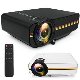 ELiT View LED-projektori 1200lumen - Musta