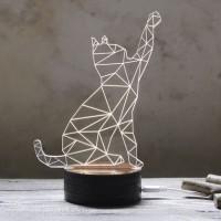 3D Kissa valaisin, tästä ei lamppu voi suloisemmaksi muuttua! Tämä valaisin on mainio piristys huoneesi sisustukseen. 3D kissa toimii mainiosti myös söpönä yövalona. Mainio piristys kaikille kissaihmisille.