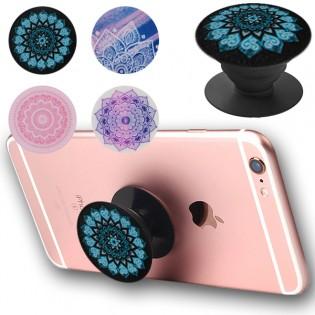Popstand puhelinpidike - Kaleidoscope - Lila
