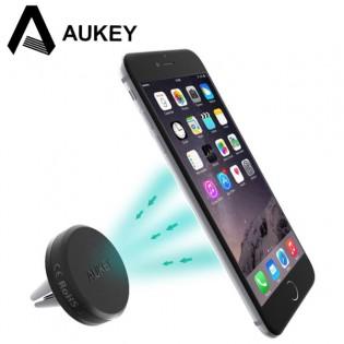 Aukey magneettinen autoteline puhelimelle ritilään