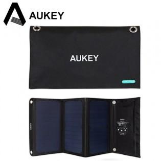 Aukey 2X USB aurinkokennolaturi