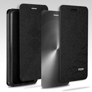 iPhone 8 / 8 Plus vahvistettu flipcover suojakuori - Musta, iPhone 8
