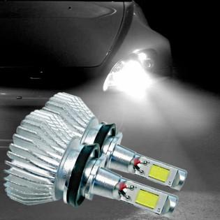 CREE LED-ajovalopolttimot 30 W 12-24 V - H7