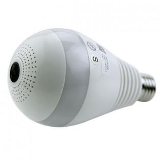 WiFi Lamppu valvontakamera 360