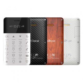 Talkase T1S -luottokorttipuhelin - Musta
