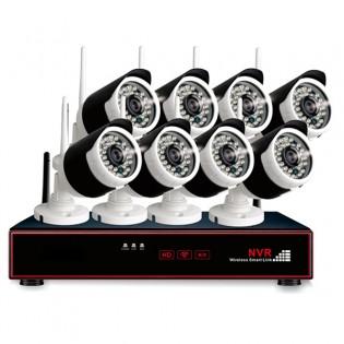 8 kameran turvakamerajärjestelmä 720P