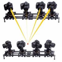 Vectorgearin hiilikuitukiskot sisältävät autopanorointi-ominaisuuden, jolla saat kameran kääntymään itsestään liikkeen aikana. Monipuoliset ominaisuudet.
