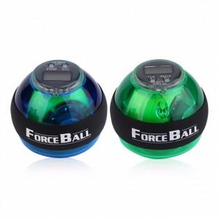 ForceBall treenipallo näytöllä - Sininen