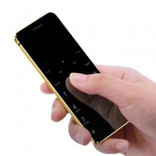 Ulcool V36 mini puhelin - Kulta