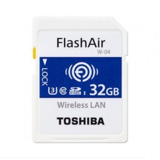 Toshiba FlashAir 32GB WiFi muistikortti