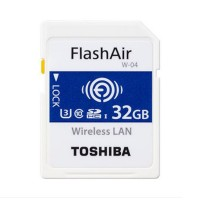 Toshiba FlashAir 32GB WiFi minneskort