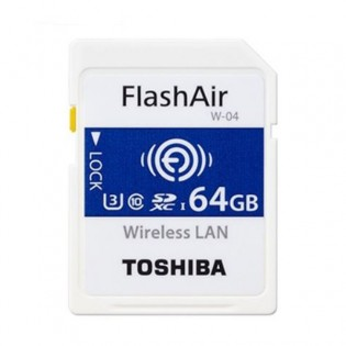 Toshiba 64GB FlashAir WiFi muistikortti