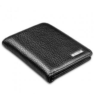 ZHUSE nahkainen lompakko-varavirtalähde 4000mAh - Musta